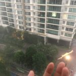朝から雨@マレーシア